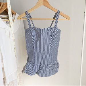 ABERCROMBIE & FITCH Striped Tank Top